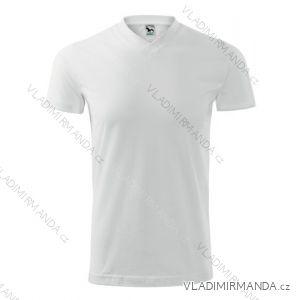 Tričko heavy v-neck krátký rukáv unisex nadrozměrné (xxxl) REKLAMNí TEXTIL 111B/1