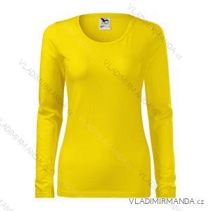Tričko slim dlouhý rukáv dámské (s-xxl) REKLAMNí TEXTIL 139