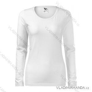 Tričko slim dlouhý rukáv dámské (s-xxl) REKLAMNí TEXTIL 139B