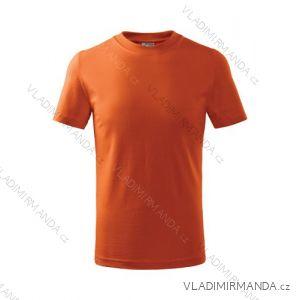 Tričko basic krátký rukáv dětské dorost (110-146) REKLAMNí TEXTIL 138A