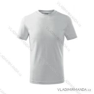 Tričko basic krátký rukáv dětské dorost (110-146) REKLAMNí TEXTIL 138B