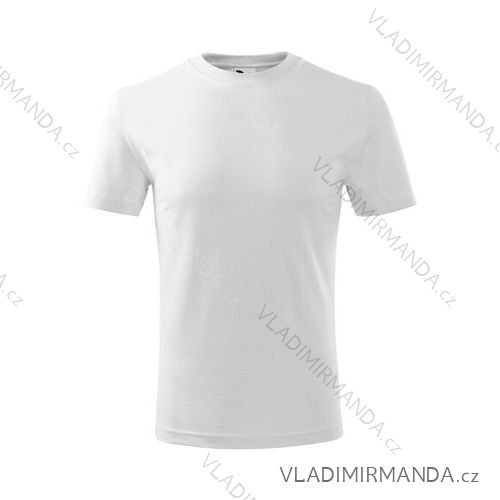 Tričko classic new krátký rukáv dětské dorost (bílá/110-158) REKLAMNí TEXTIL 135B
