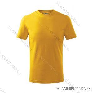Tričko basic krátký rukáv dětské dorost (110-146) REKLAMNí TEXTIL 100