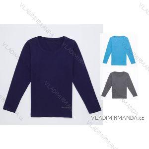 Tričko dlouhý rukáv dámské (m-xxxl) WOLF D2628