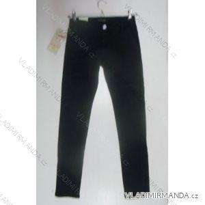 Kalhoty plátěné dětské dorost dívčí (6-16 let) EMMA GIRL T345-1