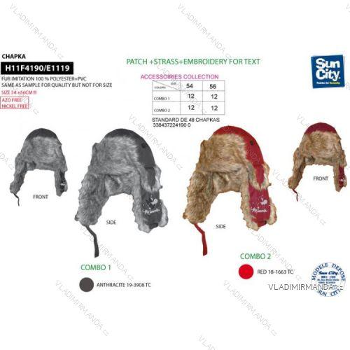 607618472 Čiapky baranice minnie mouse Dorostenecké dievčenské (54-56) SUN CITY  H11F4190