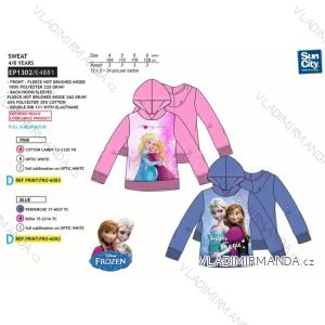 Mikina  frozen dětská dívčí (4-8 let) SUN CITY EP1302