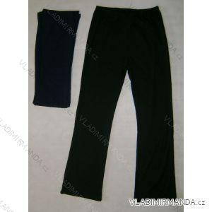 Kalhoty do zvonu dámské nadrozměrné (m-3xl) MANILA VENDULA