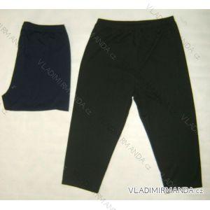 Kalhoty 3/4 krátké rovné dámské nadrozměrné (48-62) MANILA FILA-K