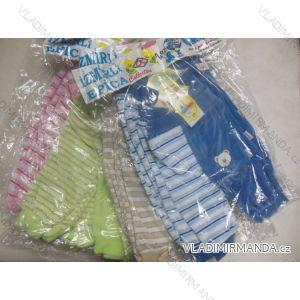 Kalhoty kojenecké sametové teplé ALB 1376