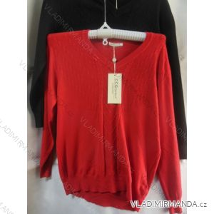 Svetr pulovr slabý dámský (xl-xxl) CCG PERFECT YY-39132