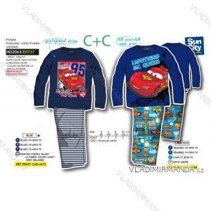 Pyžamo dlouho cars dětské chlapecké (3-8let) SUN CITY HO2063