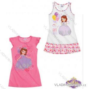 Noční košile krátký rukáv sofie první dětská dívčí (92-128) TV MANIA 128998