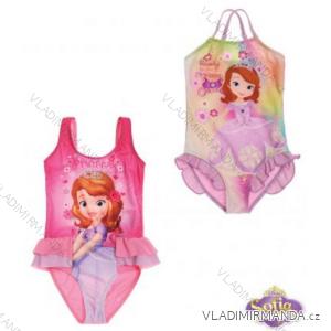 Jednodílné plavky sofia první dětské dívčí (92-128) TV MANIA 127449