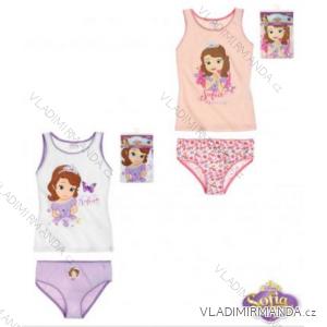 Souprava spodního prádla (dvoudílný set) sofia první dětské dívčí (92-128) TV MANIA 123512