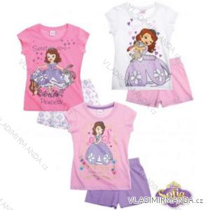 Pyžamo krátké sofia dětské dívčí (92-128) TV MANIA 109511/PRE