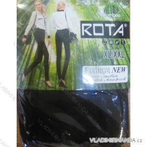 Legíny slabé bambusové nadrozměrné dámské (m-3xl) ROTA 3884RO