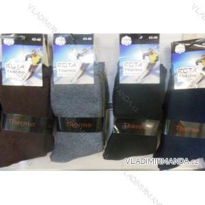 Ponožky teplé thermo pánské (39-46) ROTA LM002