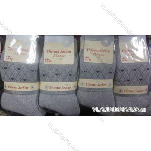 Ponožky teplé thermo dámské (35-42) VIRGIN 5545-1