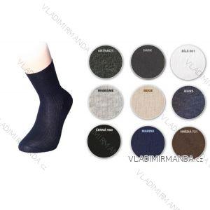 Ponožky slabé žebrované pánské bavlněné (39-50) čESKé WEPON ZEBROVANé