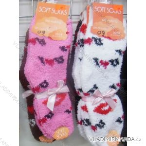 Ponožky teplé peříčkové dámské (35-42) VIRGIN 8042-09