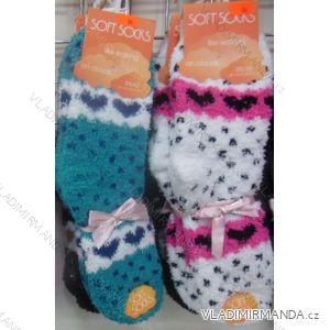 Ponožky teplé peříčkové dámské (35-42) VIRGIN 8042-06