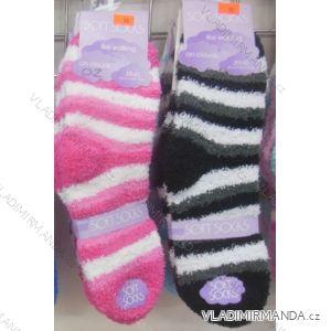 Ponožky teplé peříčkové dámské (35-42) VIRGIN 8042-02