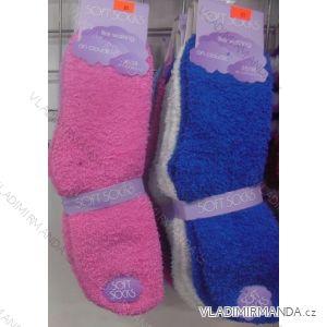 Ponožky teplé peříčkové dámské (35-42) VIRGIN 8042-01