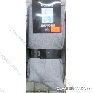Ponožky slabé zdravotní lem bavlněné pánské (39-46) VIRGIN D-5920