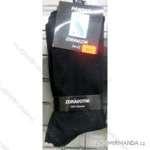 Ponožky slabé zdravotní lem bavlněné pánské (39-46) VIRGIN D-5913
