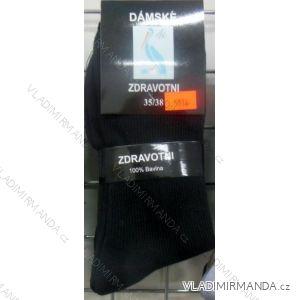 Ponožky slabé zdravotní lem bavlněné dámské (35-42) VIRGIN D-5916