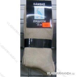Ponožky slabé zdravotní lem bavlněné dámské (35-42) VIRGIN D-5921