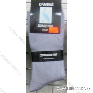Ponožky slabé zdravotní lem bavlněné dámské (35-42) VIRGIN D-5923