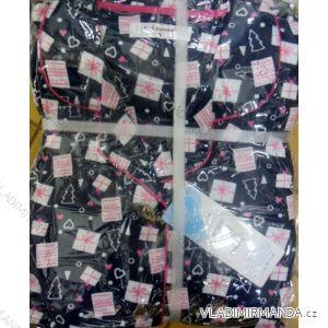 Pyžamo flanelové dámské (m-3xl) LEMON BH6615