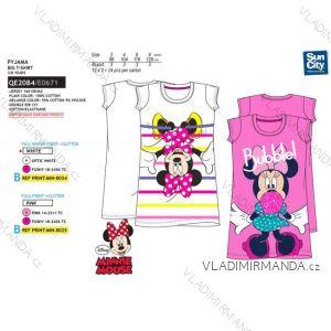 d03b44109c4a Košele nočné minnie mouse detská dievčenské bavlnená (3-8 rokov) SUN CITY  QE2084