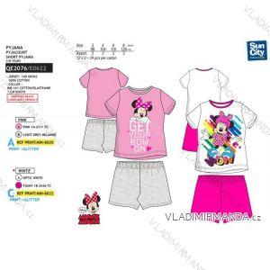 3b87f4666def Pyžamo krátke minnie mouse detské dievčenské bavlnené (3-8 rokov) SUN CITY  QE2076
