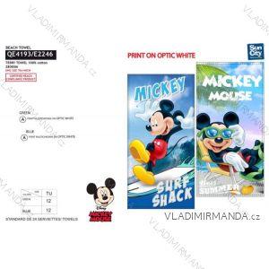 Osuška plážová mickey mouse dětská chlapecká bavlněná (70*140 cm) SUN CITY QE4193