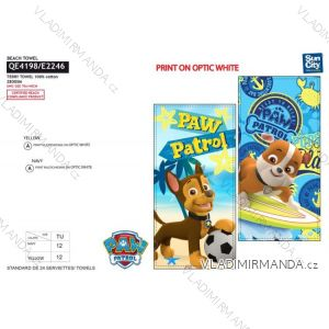 Osuška plážová paw patrol dětská chlapecká bavlněná (70*140) SUN CITY QE4198