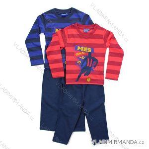 Pyžamo dlouhé fc barcelona dětské dorost chlapecké bavlněné (116-164)  SETINO 830-457/PRE