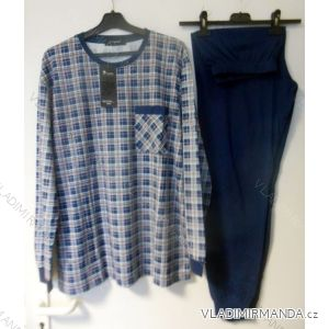 Pyžamo dlouhé pánské bavlněné (m-3xl) C-LEMON AH5812-0