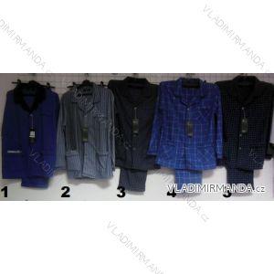 Pyžamo dlouhé flanelové pánské (m-3xl) C- LEMON AH6655