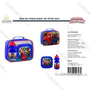 Sada svačinová box lahev spider-man dětská chlapecká SUN city spd101393