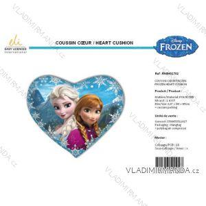 Polštář srdce frozen dětský dívčí SUN city RNB401702