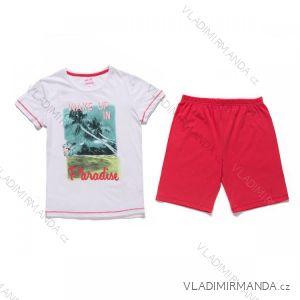 Pyžamo krátké dorostenecké dívčí (134-164) WOLF S2667