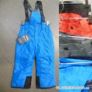 Kalhoty zimní zateplené nepromokavé lyžařské dětské dívčí a chlapecké (98-128) YDI SPORTS BY-1401-4
