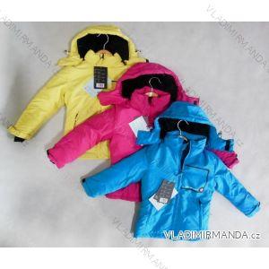 Bunda zimní dětská funkční sportovní lyžarská nepromokavá vetruvzdorná prodyšná (98-128) NEVEREST IP-32-1298CC