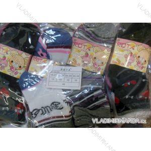 Ponožky slabé kojenecké dětské dívčí (18-34) ROTA AA-004