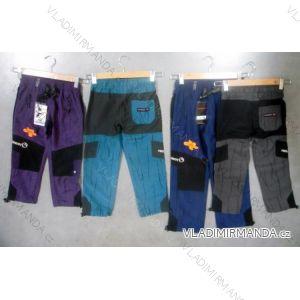 Kalhoty outdoor sportovní bavlněné dorostenecké chlapecké (134-164) NEVEREST F-961C