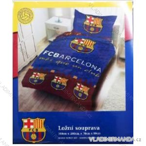 Povlečení fc barcelona dětské dorostenecké chlapecké (140*200 + 70*90cm) SETINO FCB-8010BL