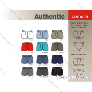 Boxerky pánské authentic perfect (s-2xl) CORNETTE AUTHENTIC-PERFECT